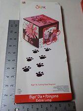 SIZZIX BIGZ XL BOX #655132 DIE CUT BIG SHOT USED EUC A3645