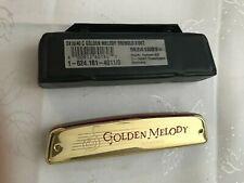 New Hohner 2416-C Golden Melody Tremolo Series Harmonica 40-Hole