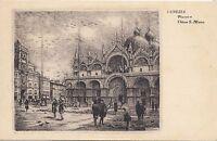 BF32520 piazza e chiesa s marco  venezia   italy  front/back image