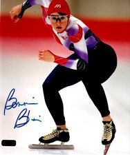 Bonnie Blair Olympic Gold Winner Autographed 8 X 10 Photo Coa Old Pro Gallery