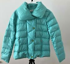 KENNETH COLE Turquoise Puffer Jacket size L