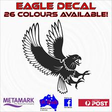 25cm EAGLE decal sticker.Car,4wd,ute tattoo,boat,caravan,wall,workshop graphic!