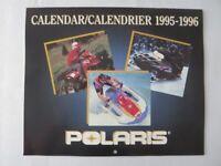 1995 - 1996 Polaris Calendar Sales Brochure Jetski Watercraft ATV Snowmobile +