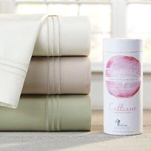 PureCare® Elements Premium Celliant Sheet Set, Healing Silver Woven - Queen Sand