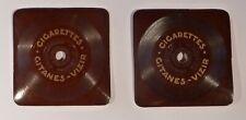 disques miniatures publicitaires 78 tours gitanes vizir v.1932 carton non testés