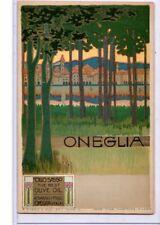 Advertising Postcard - Oneglia Italian Olive Oil