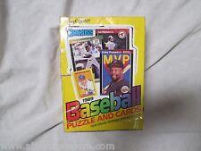 DONRUSS 1989 BASEBALL PUZZLE AND CARDS SET