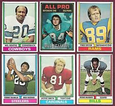 1974 1975 Topps 5/$1.00 Commons Semi-Stars You Pick Complete Your Set VGEX