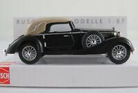 """Busch 41315 Horch 853 Cabrio (1933) """"Scheunenfund"""" in schwarz 1:87/H0 NEU/OVP"""