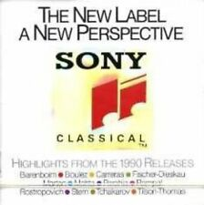 Sony Classical-Highlights from the 1990 Releases Barenboim, Boulez, Carre.. [CD]