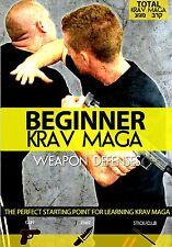 Beginner Krav Maga: Weapon Defenses - New Training DVD!