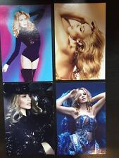 Kylie Minogue Lot of 4 Postcards 4x6 (Not a Cd, dvd or blu-ray) postcard Golden