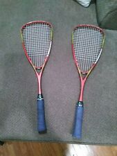 Head ix 140 squash racquets (2) good condition no cover