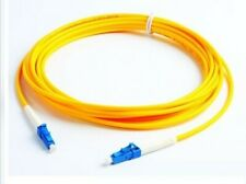 1x SC to LC Singlemode Single Core Fiber Optical Patch Cable Line 5 Meter