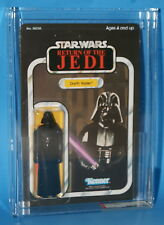 STAR WARS 1983 KENNER DARTH VADER 65 BACK AFA 85 UP CLEAR BUBBLE