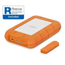 New LaCie Rugged USB-C and USB 3.0 4TB Portable Hard Drive - STFR4000800