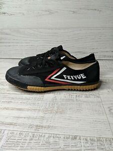 Feivue Black Martial Arts Parkour Shoes Sneakers Size EUR 42 / US 10 Men's