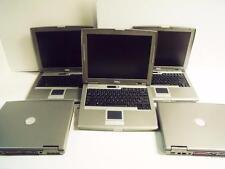 "Lot of 5 Dell Latitude D510 Windows XP Professional Laptop Computer 14""  #PP17L"