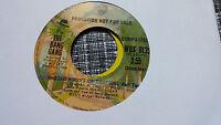 The Bang Gang 45 Who Said Honky's Ain't Got Soul Pts 1/2 WB Promo 8135 Funk 70s
