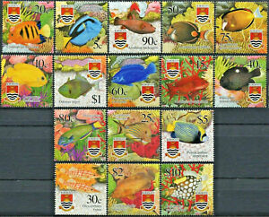Kiribati 2002 - Marine Life - Tropical Fish - Set of 16 - MNH