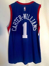 Adidas SWINGMAN 14-15 NBA Jersey Philadelphia 76ers Mike Carter-Williams Blue 2X