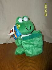 Carpetz I.B. Hoppy The Frog Car Companions Plush With Suction Cup