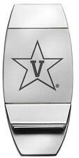 Vanderbilt University Star logo ENGRAVED SILVER MONEY CLIP Commodores fan gift