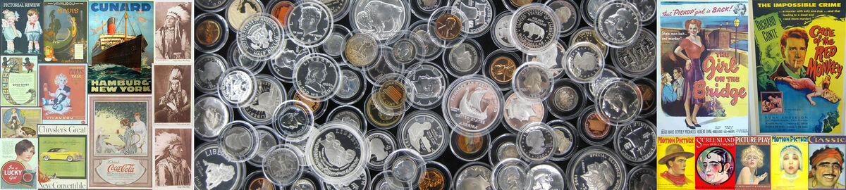Hal's coins and collectibles
