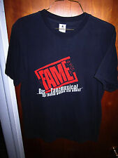 FAME MUSICAL German theater T shirt lrg tee Das Tanzmusical performing arts