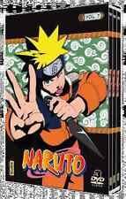 17188 // COFFRET 3 DVD NARUTO VOLUME 7 NEUF SOUS BLISTER