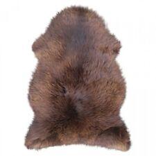 Lammfelle Englisches Lammfell Naturbraun ca. 110 cm