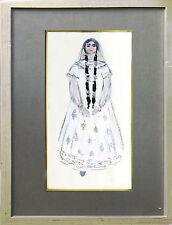 Wassilij Masjutin (1884-1954) Tschechow Russland Theater Kostüm 1931, publiziert
