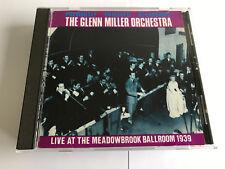 Glenn Miller Orchestra  Live at the Meadowbrook Ballroom 1939 CD (1999) VNR MINT