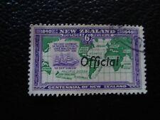 NOUVELLE ZELANDE - timbre yvert et tellier service n° 93 obl (A6) stamp