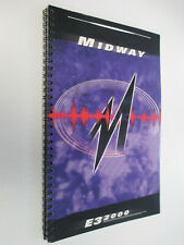 MIDWAY Product Brochure Game Catalog Magazine - Promo E3 2000 Playstation N64