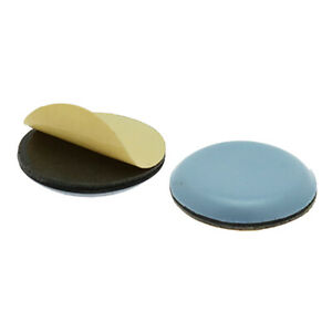 Round Self Adhesive Teflon Pads, 20mm 30mm 40mm, Furniture Sliders, PTFE Glides
