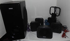 RCA Home Theater System RTD325W 5.1 Replacement Speakers and Subwoofer ONLY