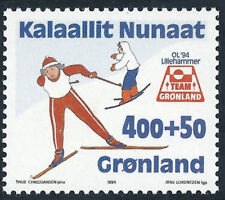 Greenland 1994 Skiing, Winter Olympic Games, Lillehammer, UNM / MNH