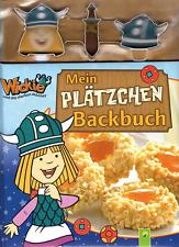 Wickie ** Mein Plätzchen Backbuch incl. 3 Ausstechformen Plätzchenausstecher NEU