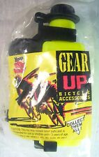1992 Vintage Wendys Fast Food Premium GEAR UP Bike Water Bottle Sealed Mint C10!