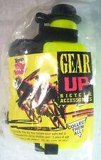 1992 Vintage Wendys Fast Food Premium GEAR UP Bike Water Bottle Sealed Mint C10!