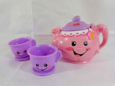 Fisher Price Laugh and Learn Talking Musical Teapot with 2 Cups Pink Purple