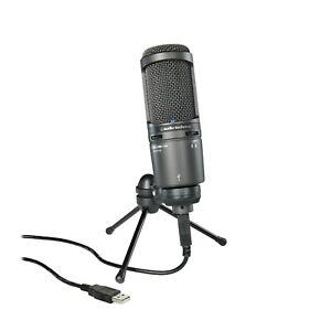 Audio Technica AT2020USB+ Mic Professional Cardioid Condenser USB Microphone