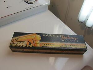 Varney Railways Models Pullman PA 300 Hollywood Ca Train Box