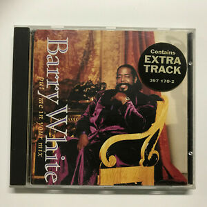 CD Barry White - Put Me In Your Mix