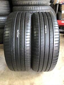 225/40R20 94Y XL Pirelli P Zero*RSC Run Flat x2 - 5.06mm/4.74mm