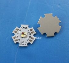 10w Cree XLamp XM-L RGBW RGB White Color LED Emitter 4-Chip 20mm Star PCB Board