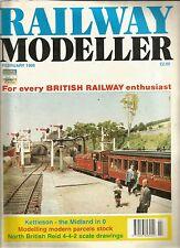 Railway Modeller Magazine February 1999