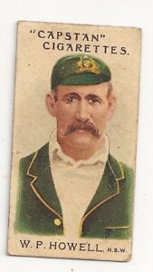 1907 Capstan cigarettes W.P. Howell N.S.W Aust and English Cricketers  No 3