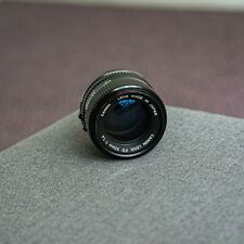 CANON FD 50mm f 1.4 lens.  Works great!